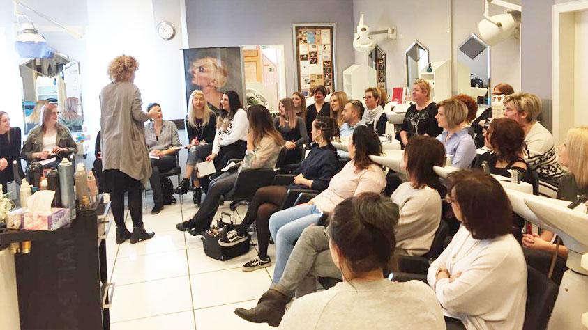 Wella Seminar Haarfarbe / Contouring mit Kristin